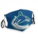 Vancouver-Canucks MASK Face Cover Unisex Mouth Washable Anti Dust Face Cover for Adults Kids,Balaclava,Outdoor face Towel for NHL Team Vancouver Canucks face mask