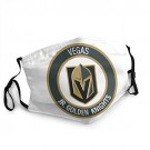 Vegas Golden Knights 5 Face Cover Fashion Anti- Face Mouth Cover Windproof Adjustable Washable Cover for Outdoor Sports for NHL Team Vegas Golden Knights face mask
