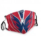 Washington CAPI-tals MASK Face Cover Unisex Mouth Washable Anti Dust Face Cover for Adults Kids,Balaclava,Outdoor face Towel for NHL Team Washington Capitals face cover
