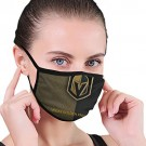 Vegas Golden Knights Dust Face Cover with Ice Hockey Logo Reusable Face Covering for Men and Women Fashion Outdoor Mouth Guard for NHL Team Vegas Golden Knights face cover
